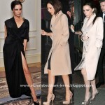 Brian Atwood with Victoria Beckham presented by Sabine Moondestin