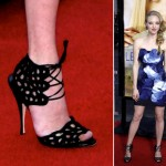 Brian Atwood with Amanda Seyfried presented by Sabine Mondestin