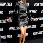 Zoe Saldana in Brian Atwood presented by Sabine Mondestin from theprettyshoes.com