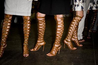 Altuzarra Backstage at New York Fashion Week Spring Summer 2013 Collections