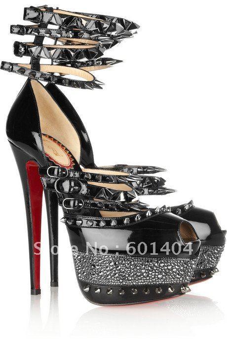 2012-high-heels-punk-spike-shoes-victoria-beckham-favorite-women-red-sole-pumps-peep-toe-pump