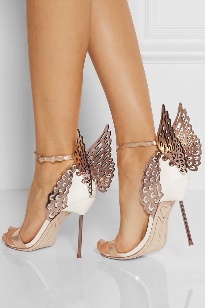 The playful world of sophia webster the pretty shoes for Sophia webster wedding shoes